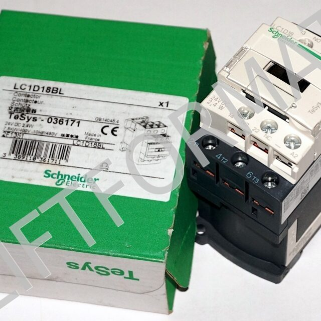 Контактор LC1D18BL Schneider Electric