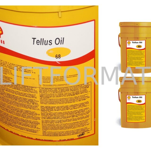 Масло Shell Tellus Oil 68